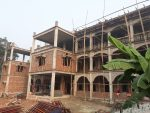 Postęp prac budowlanych Centrum Młodzieżowego w Bangladeszu.